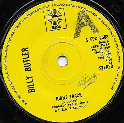 Billy Butler Right Track Boston Monkey