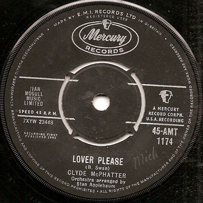 Clyde McPhatter - Lover Please / A Lover's Question