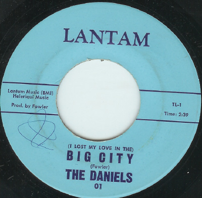 Daniels I Lost My Love In The Big City Finally