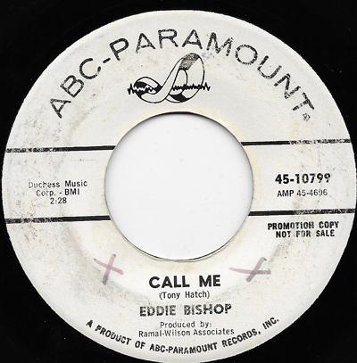 Eddie Bishop Call Me