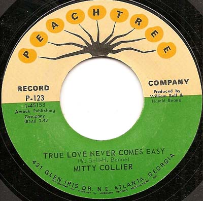 Mitty Collier - True Love Never Comes Easy/Fly Me To The Moon