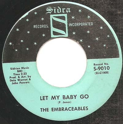 Embraceables Let My Baby Go Here I Go
