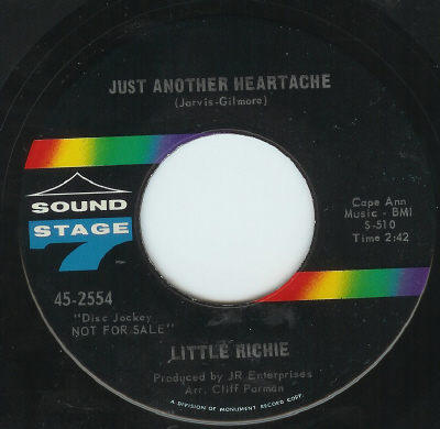 Little Richie Just Another Heartache Sound Stage 7 D
