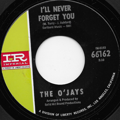 The OJays Ill Never Forget You Pretty Words