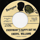 Northern Soul, Rare Soul - CHERYL WILLIAMS D, EVERYBODY'S HAPPY BUT ME