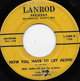 Northern Soul, Rare Soul - EDWARD HAMILTON & ARABIANS DETROIT, NOW YOU HAVE TO CRY ALONE