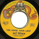 Northern Soul, Rare Soul - RAY ZEINER, YOU KNOW YOUR LOVE